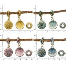 2pcs Antique Silver Tone Patina Wash Large Hole European Bracelet Bail Star Christmas Pandora Style Dangling Pendants Charms for $2.62 from Czech Beads Exclusive