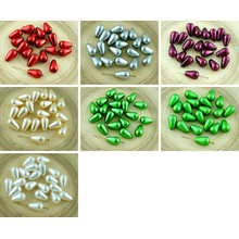 20pcs Large Pearl Imitation Tear Drop Czech Glass Beads 12mm X 7mm for $2.71 from Czech Beads Exclusive