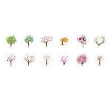 Runde Kuppel Tschechische Glas-Cabochons Bäume 3 für $ 7.29 von Czech Beads Exclusive