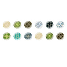 Handmade Round Domed Czech Glass Cabochons Other Patterns 2 for $6.92 from Czech Beads Exclusive