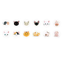 Handmade Round Domed Czech Glass Cabochons Cats Halloween 1 for $6.92 from Czech Beads Exclusive
