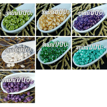 10g Di Miniduo Ceca Seed Beads Vetro A Due Fori Mini Duo 2mm X 4mm per $ 3.94 da Czech Beads Exclusive