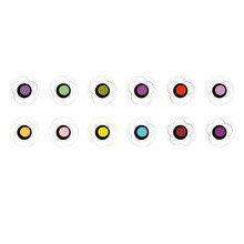 Handmade Round Domed Czech Glass Cabochons Flowers 204 for $7.29 from Czech Beads Exclusive
