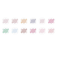 Handmade Round Domed Czech Glass Cabochons Flowers 88 for $7.29 from Czech Beads Exclusive