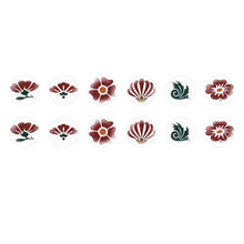 Handmade Round Domed Czech Glass Cabochons Flowers 2 for $6.93 from Czech Beads Exclusive