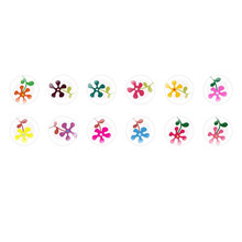 Handmade Round Domed Czech Glass Cabochons Flowers 31 for $7.29 from Czech Beads Exclusive