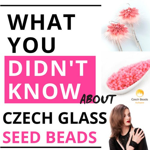photo about Bead Size Chart Printable titled Site :: Information! :: Czech Seed Bead Dimensions, Condition, Shade and