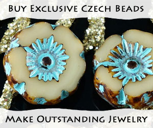Buy exclusive Czech beads, make outstanding jewelry